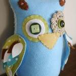 BOO!beloobie Large Orli the Owl in ..