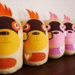 BOObeloobie Mango the Monkey in Yel..