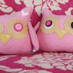 BOObeloobie Orli the Owl in Pink, C..