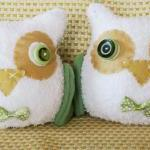 BOObeloobie Orli the Owl in Olive G..